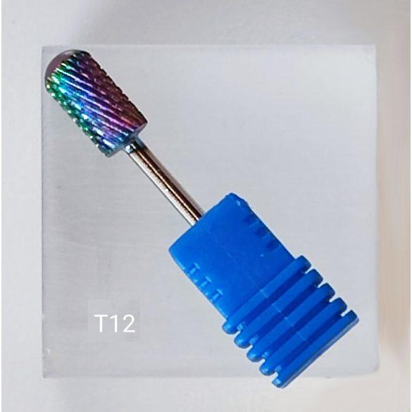 Karbidový brúsny nadstavec valcovitý so zaoblenou špičkou - M - stredne jemný